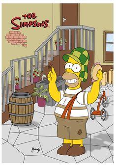 Homer Simpson Chespirito