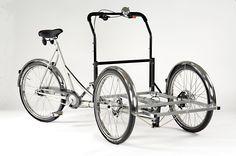 Triporteur Christianiabikes modèle Custom #cargobike