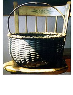 Photo; Black Ash Baskets