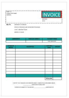 Download A Free Simple Hourly Rate Invoice Template For Excel Helps - Hourly rate invoice template