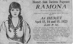 Ramona Pageant 1923 ... still playing