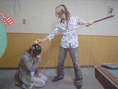 Aoi and Uruha(The GazettE)