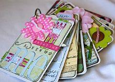deck of cards scrapbook