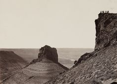 Scenes From The American West 150 Years Ago