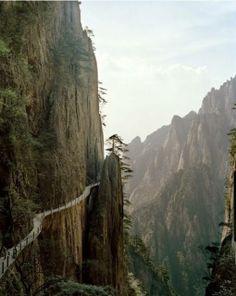 The Bridge of Immortals, HuangHsan, China ~ Amazing World Online