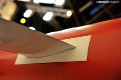 The Flying Phantom - detail shot