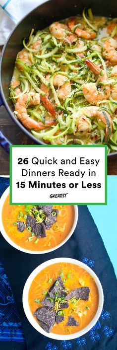 Ready in a flash and they don't skimp on taste. #healthy #fast #dinners http://greatist.com/eat/easy-dinner-recipes