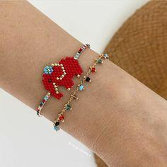Delicate, Beaded Bracelets, Leather, Instagram, Etsy, Jewelry, Fashion, Crochet Bags, Beading