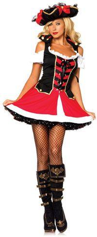 Aye Aye Admiral Pirate Costume - Pirate Costumes