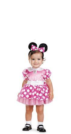 Disguise ディズニー クラブハウス ミニーマウス ピンク インファント  の画像