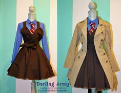 10th Doctor Girl costume! costume? id wear this as an outfit!