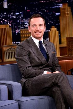 Fuck me, Fassbender | fassbender-m:   Michael Fassbender on the Tonight...