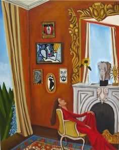 Song quote and art of the day., painting by artist Catherine Nolin