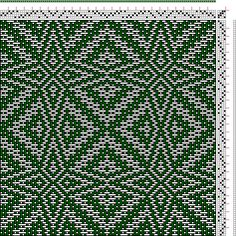 Hand Weaving Draft: xc00081, , 4S, 4T - Handweaving.net Hand Weaving and Draft Archive