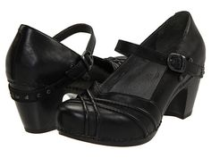 Dansko Reeny Black Full Grain Leather - Zappos.com Free Shipping BOTH Ways