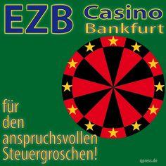 ❌❌❌ Jedes kleine Casino ist besser beaufsichtigt und reglementiert als die EZB. In dieser Zockerbude werden derzeit rund 80 Milliarden Euro pro Monat zur Blasenbildung am Finanzmarkt verzockt. Die Aussichten auf einen Gewinn tendieren hier eher gegen Null, aber der Beschleunigung der Umverteilung von unten nach oben hilft dieses Verhalten sehr auf die Sprünge, wenn man weiß wer am Ende diese Spielsucht zu bezahlen halt. ❌❌❌ #EZB #EU #Casino #Spielbank #Geldpolitik #Draghi