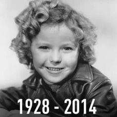 Farewell Shirley Temple Black