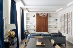 Studio Mills to mała, londyńska pracownia architektoniczna prowadzona przez dwie siostry bliźniaczki. Jednym z ich najnowszych projektów jest aranżacja mieszkania w Westminister, w kamienicy przy Tufton Street.