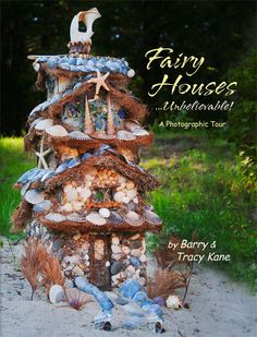 Fairy House with lots of shells