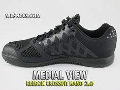A medial view of the new Reebok Nano 2.0 Reebok Crossfit Nano 6fb62bcef