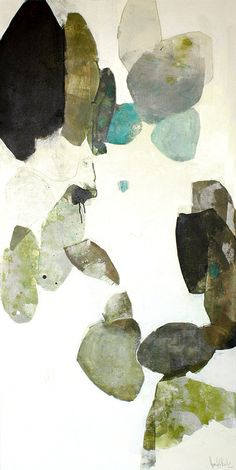 meredith pardue - individual collage-like shapes, similar colour field, works with small 3 turquoise shapes Art Inspo, Painting Inspiration, Abstract Watercolor, Abstract Art, Art Et Illustration, Art Design, Oeuvre D'art, Painting & Drawing, Art Photography