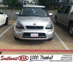 Thank you to Dena Mcclure on your new 2013 #Kia #Soul from Christopher Meregini and everyone at Southwest Kia Mesquite! #RidingInStyle