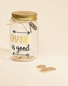 Sass & Belle Change Is Good Money Jar