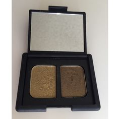Nars Eyeshadow Limited Edition Color Paramaribo.   Beautiful gold color with hint of green.   No use for it since I have all the Naked palettes.  Only swatched.  Full original size.  Can sell $12 free shipping on Ⓜ️ercari, just let me know.  Originally $30 NARS Makeup Eyeshadow