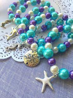 Kids mermaid bracelets, kids party, loot bag favor, under the sea inspired bracelets, mermaid party,