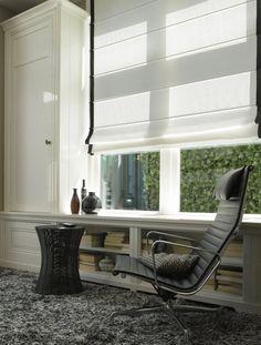 Рулонные и римские шторы из натуральных тканей #blinds #romanshades #window…