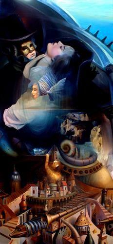 """Phantom of the Opera"" by Tomek Sętowski"