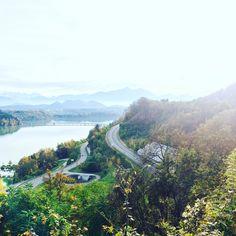Drau, Stausee Völkermarkt, autumn, Carinthia River, Mountains, Nature, Outdoor, Outdoors, Naturaleza, Outdoor Games, Nature Illustration, The Great Outdoors