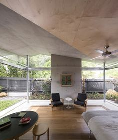 Plywood The Garden Room / Welsh+Major