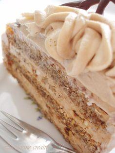 Ako ste ljubitelj klasicnih torti, sa puno oraha i bogatom kremom od cokolade i maslaca, pa jos sve posuto grilijasom od lesnika, onda vam ...