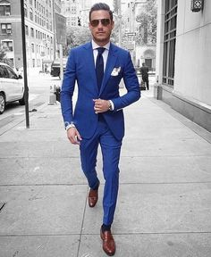 Get the best deals on the latest trends for men's Slim Fit suits at MensUSA.com ... Men's Slim-Fit Infinite Stretch Blue Plaid Suit Separates. Mens Fashion Suits, Mens Suits, Fashion Edgy, Groom Suits, Gents Fashion, Man Fashion, Fashion Night, Boys Formal Wear, Under Armour