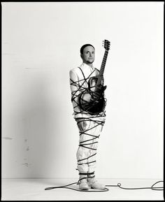 Paul Landers! He has a really strong bond with his guitar...