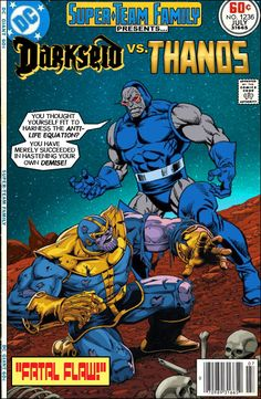 "Super-Team Family: The Lost Issues!: Darkseid Vs. Thanos in ""Fatal Flaw!"""