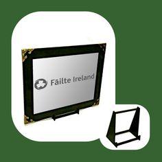 Failte Ireland Engraved Mirror Only Wall Hanger, Adhesive, Ireland, Mirror, Gifts, Stuff To Buy, Presents, Mirrors, Irish