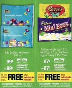 FREE Easter Candy at CVS!