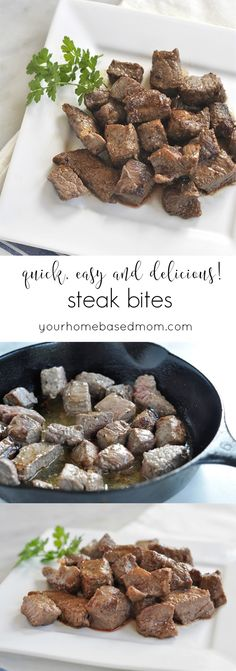 Steak Bites Recipe -