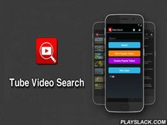 Simple Tube Video Search  Android App - playslack.com , A simple and easy-to-use search YouTube player.Search for a movie with the word you want to search, and can watch the video right away.Videos can be easily retrieved and viewed at any time to add to your favorites (bookmarks).Can be quickly and simply by playing with light and non-web applications.Key features include:★ Popular YouTube Videos★ automatic Google Search Enter keyword function★ video location favorites★ video link sharing★…