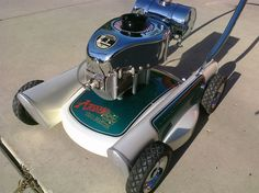 The Garage Journal » Blog Archive » Moriarity's Lawn Mower
