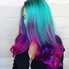 I WOULD DO THE OPPOSITE. DARK PURPLE ON TOP