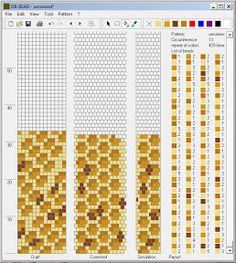 Узоры для вязаных жгутиков-шнуриков 2 | biser.info - всё о бисере и бисерном творчестве