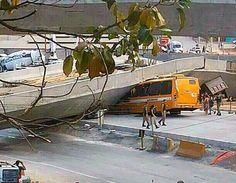 Portal Esporte São José do Sabugi: Viaduto inacabado que da acesso ao Mineirão cai e ...