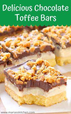 Great Desserts, Mini Desserts, Delicious Desserts, Blondie Dessert, Dessert Bars, Brownie Recipes, Cookie Recipes, Bar Recipes, Yummy Recipes