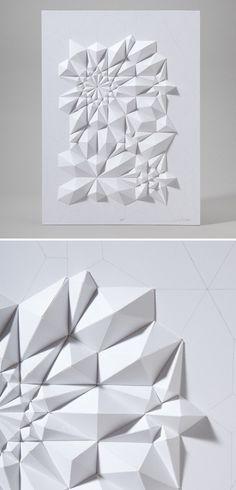 Tessellation Formation 5 by Matt Shlian.