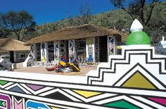 ndebele houses - Google Search South African Tribes, Practical Jokes, Environmental Art, Man In Love, World Cultures, Wonders Of The World, Mystery, Places To Visit, Cinema