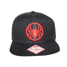 new products 7b2f3 6737d Grab this Bioworld Licensed Spiderman - Ultimate Snapback Hat! Go get it  now at https