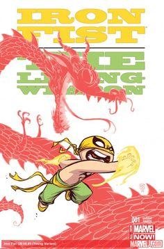 Iron Fist (2014) #1 (Skottie Young Variant)